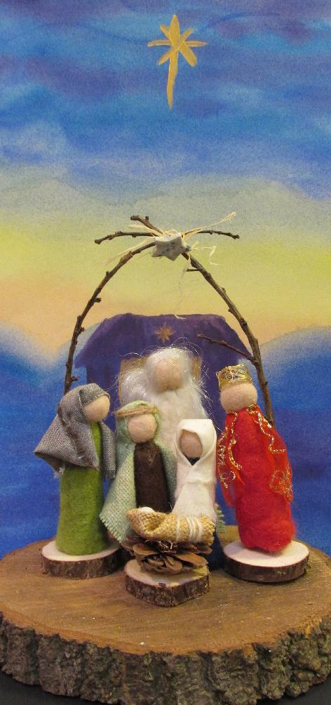 Christmas Card, Nativity