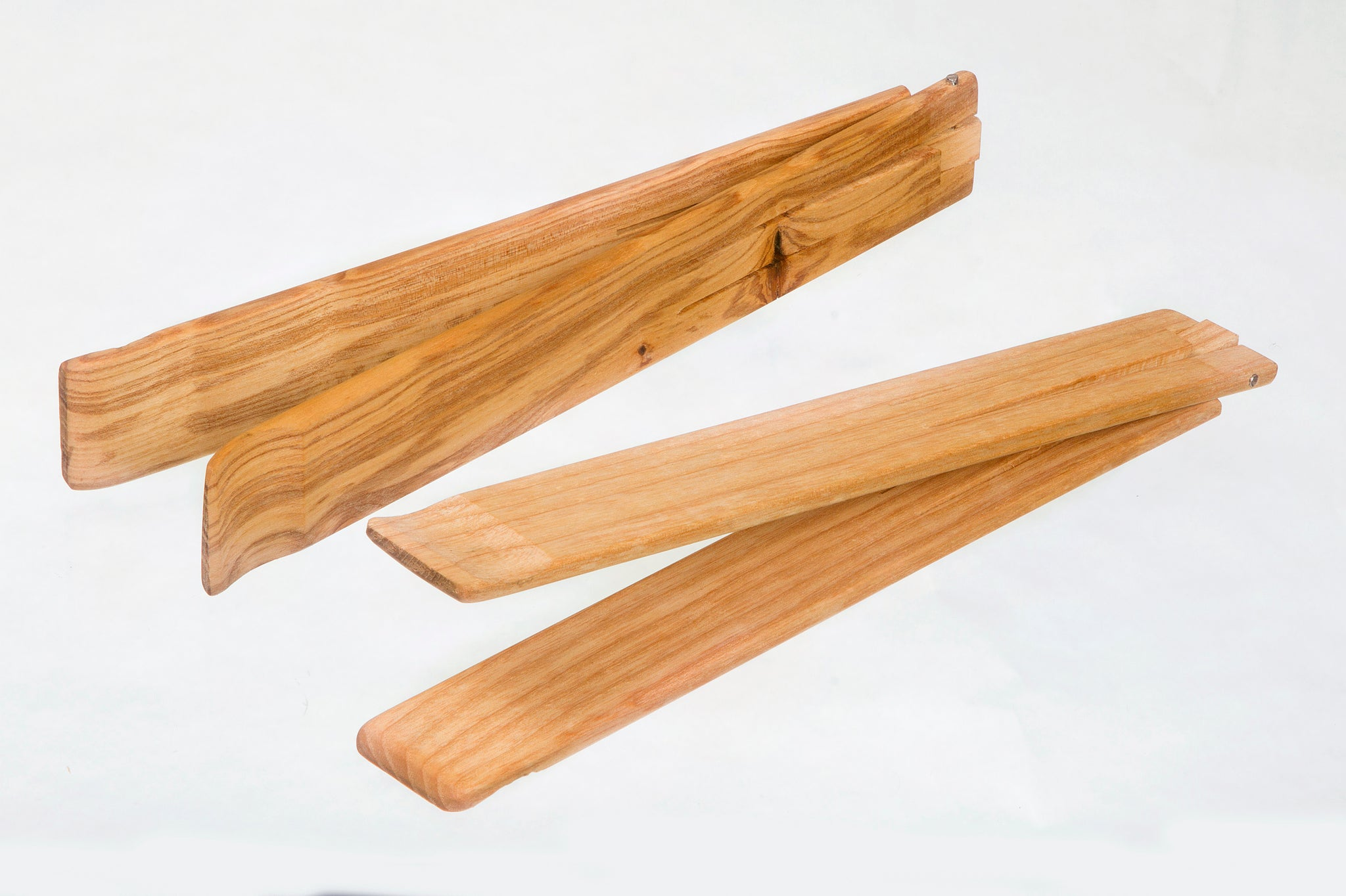 Wooden Serving Tongs