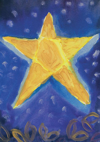 Christmas Card, Star