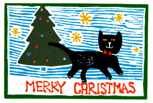 Christmas Card, Christmas Cat