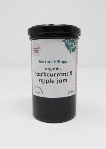 Preserve, Blackcurrant and Apple Jam, Organic