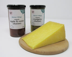 Cheese and Chutney, Organic Hamper