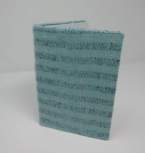Book Jacket, Woven Turquoise