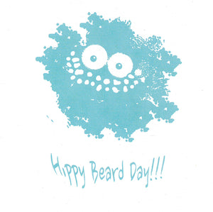 Card, Hippy Beard Day !!!!