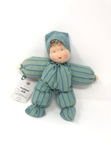 Waldorf Poppet Doll, Stripes