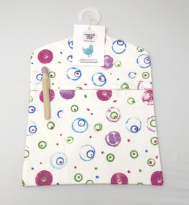 Circles peg bag