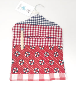 Nautical peg bag