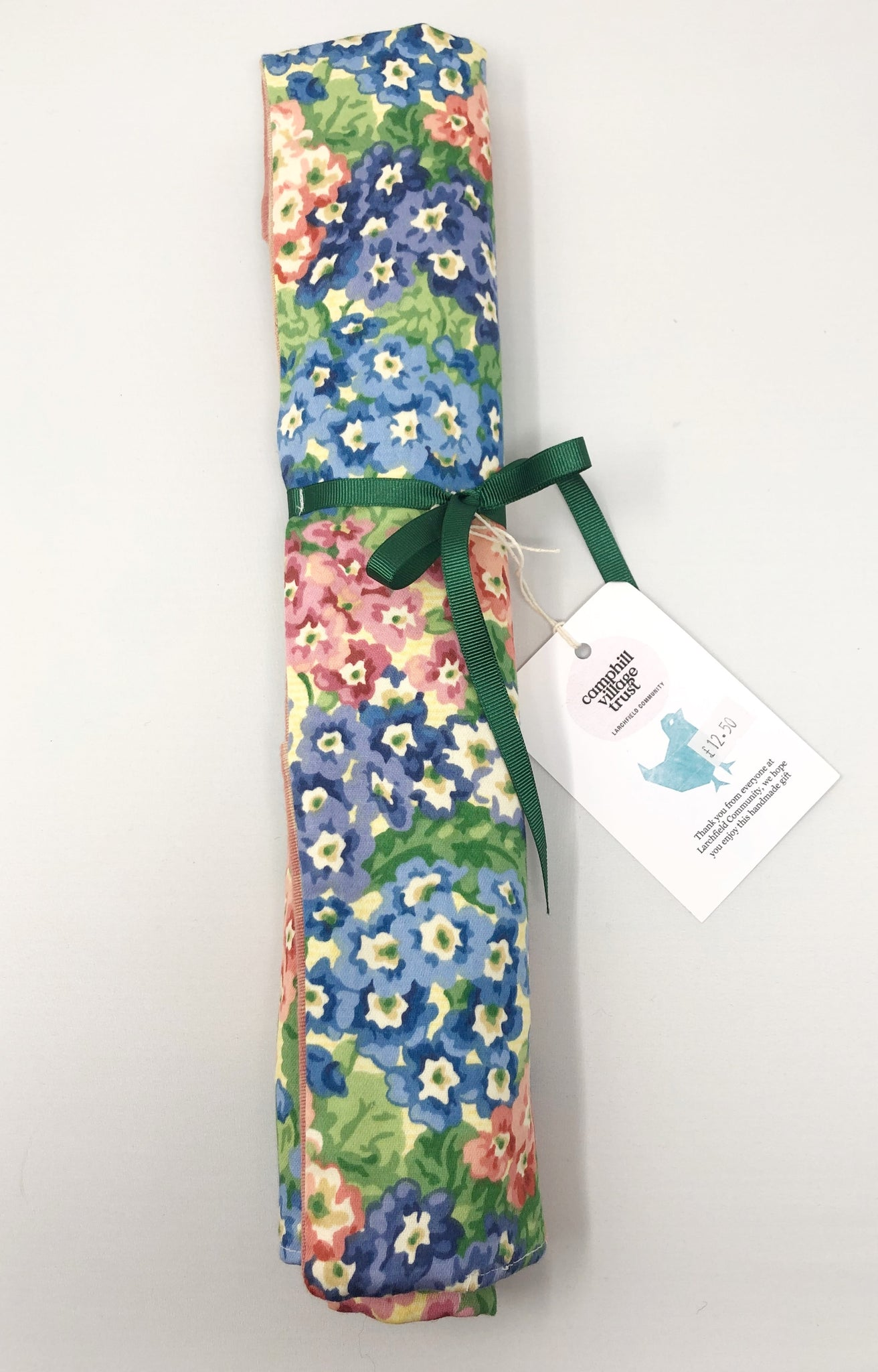 Knitting needle case with needles