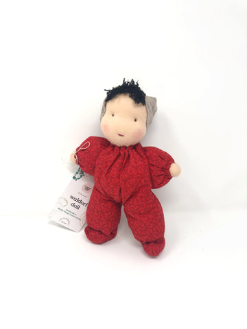 Waldorf Poppet Doll, Rose