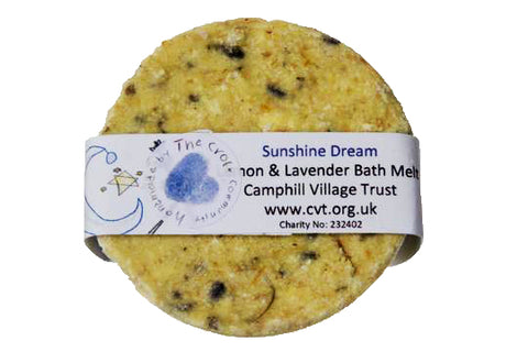 Bath Melt, Lemon and Lavender