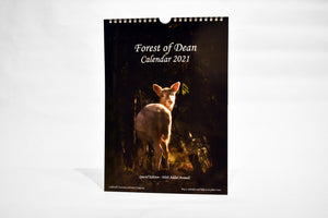 """White Fallow Deer"" Caldwell Creations Calendars 2021"