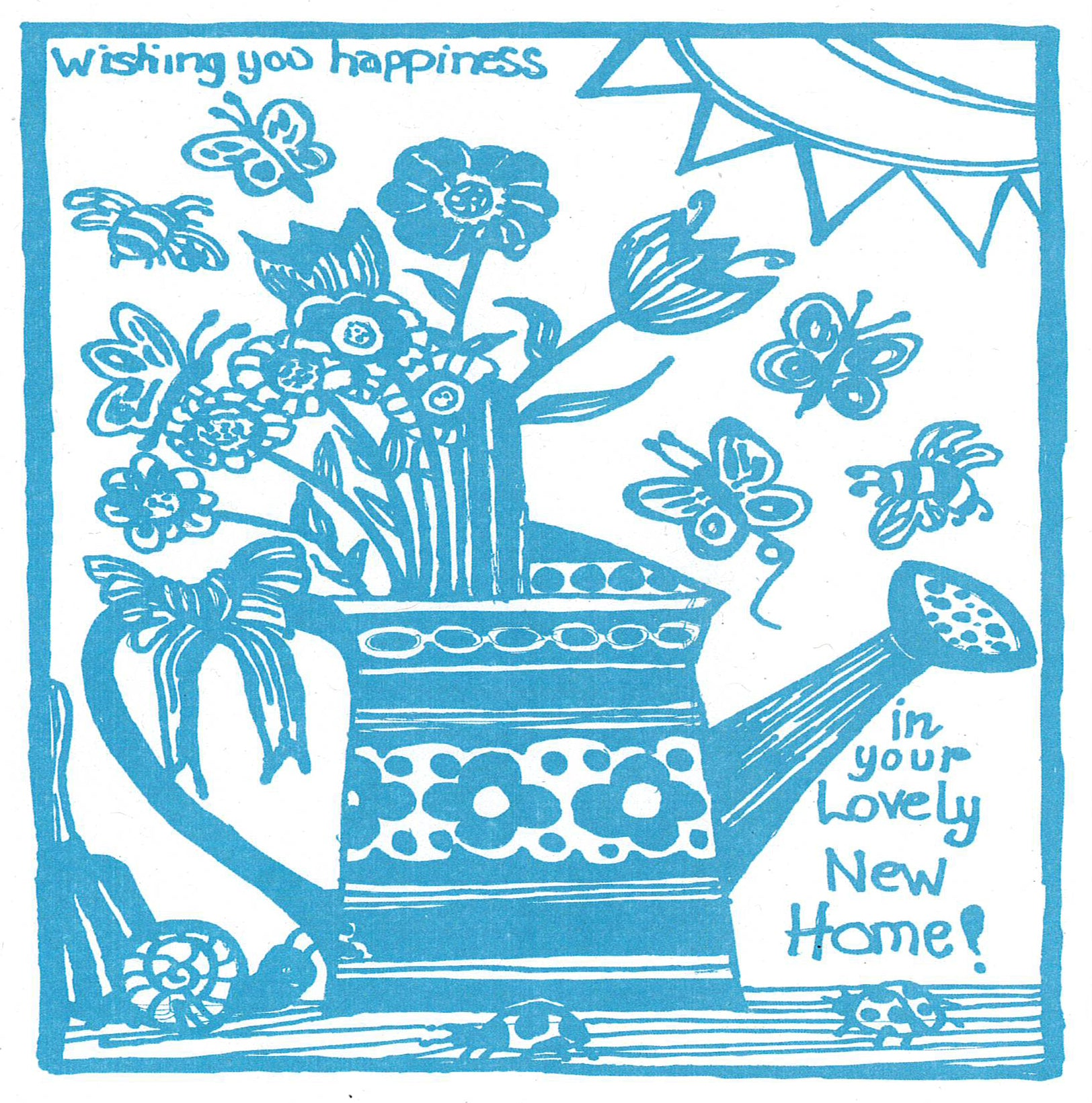 Card, Wishing You Happiness In Your Lovely New Home