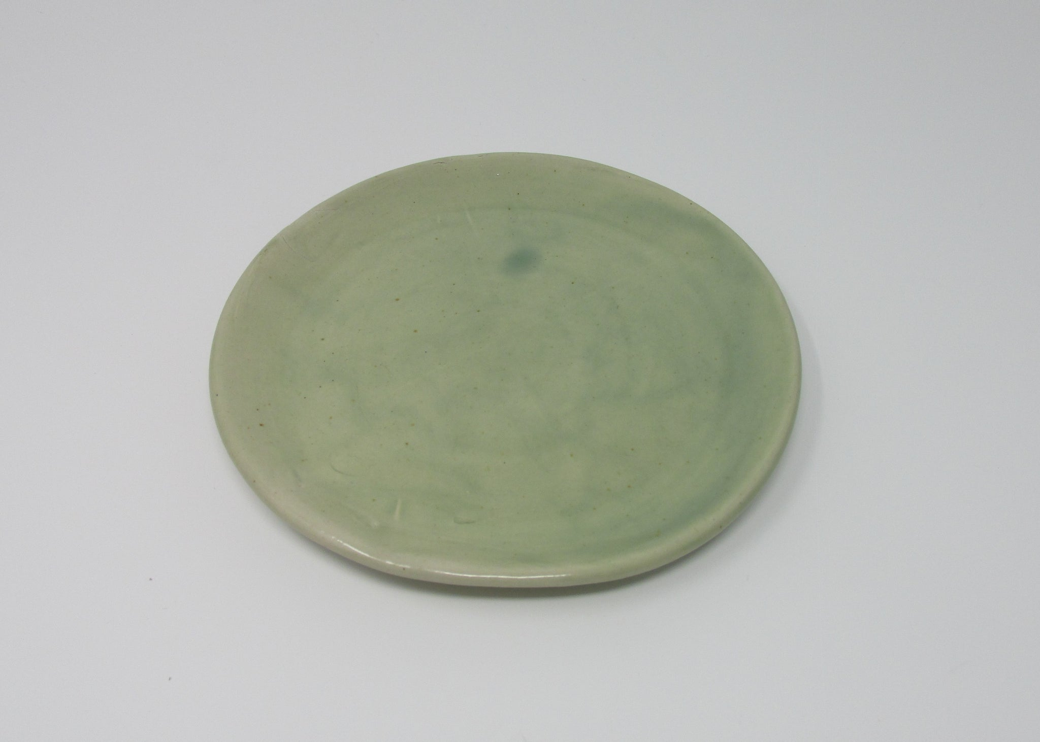 Side Plate, Green