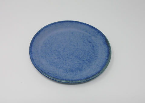 Side Plate, Mid-blue