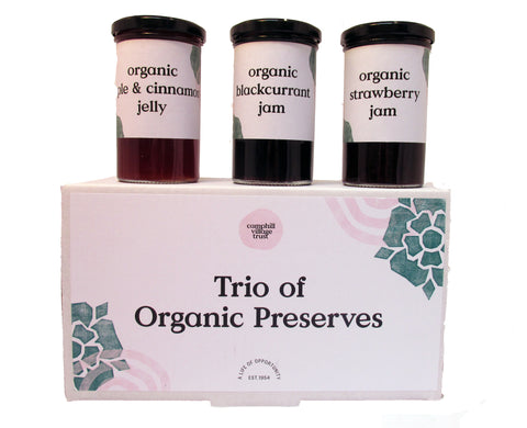 Hamper, Sweet Trio of Preserves,