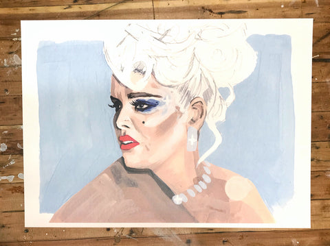 Anna Nicole Smith Print