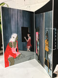 Doll House, Limited Edition Fold up Print