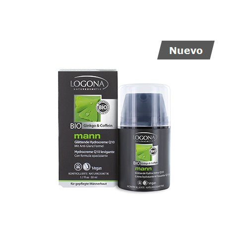 LOGONA / Smoothing Hydro Cream Q10 Man