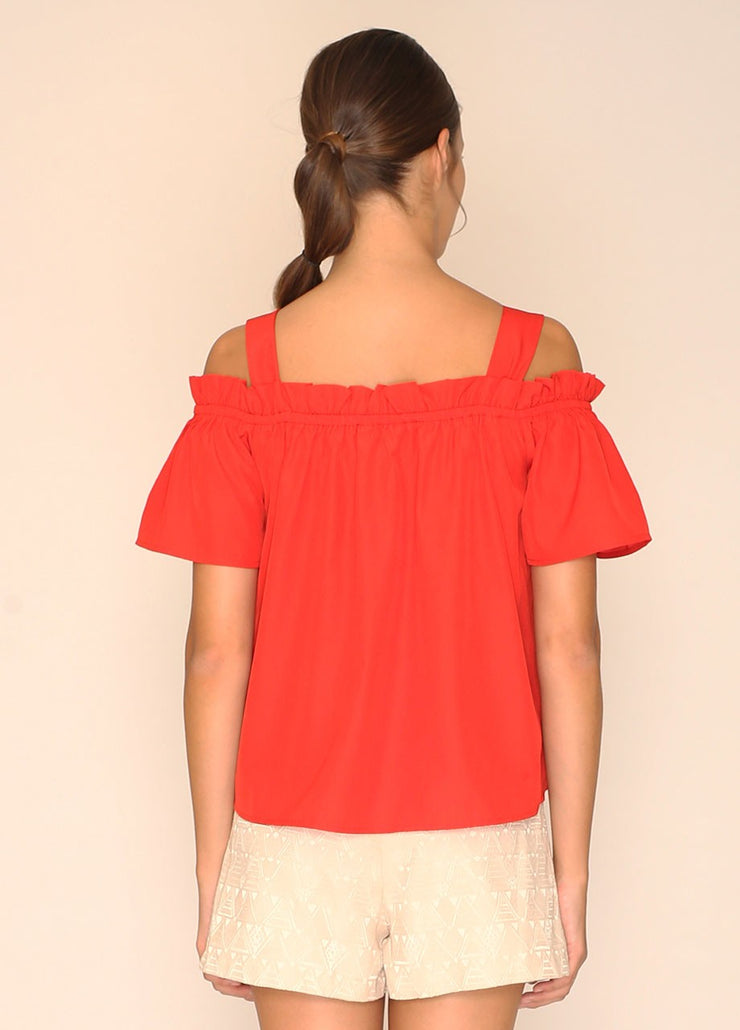 PEPALOVES / Top Madison / Red