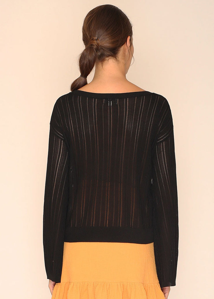 PEPALOVES / Sweater Donna / Black