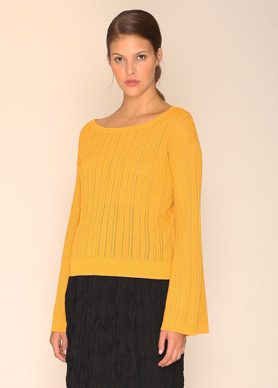 PEPALOVES / Sweater Donna / Mustard