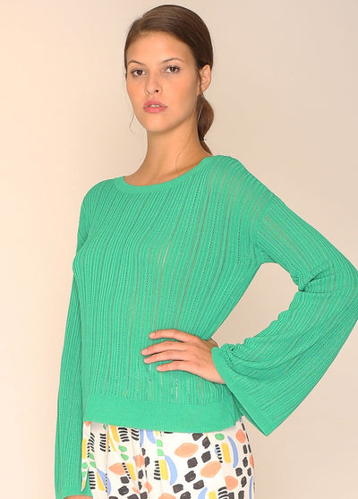 PEPALOVES / Sweater Donna / Green