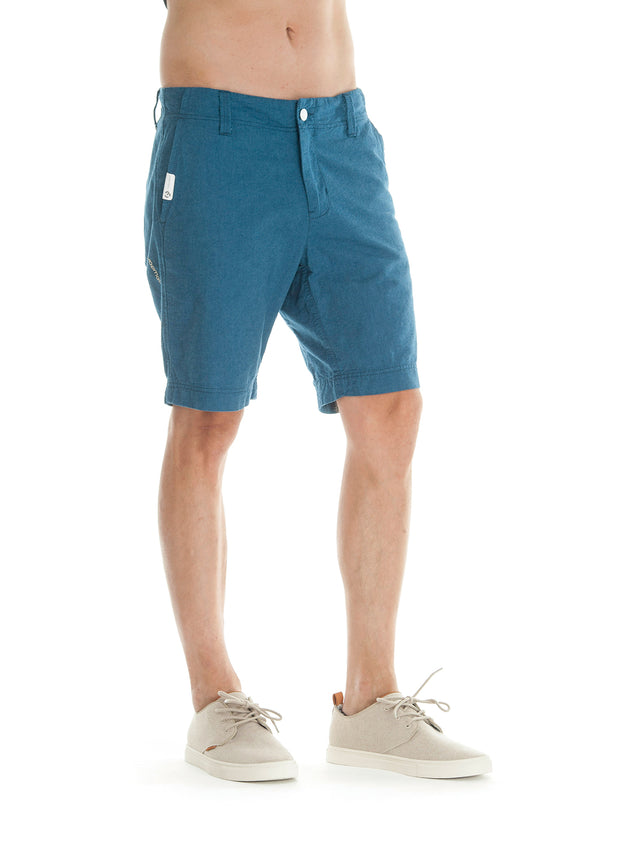 Karel shorts (denim blue melange)