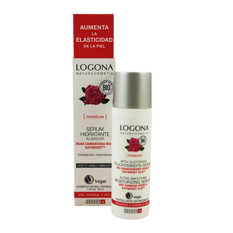 SERUM HIDRATANTE ROSAS BIO & ACIDO HIALURONICO 30ml