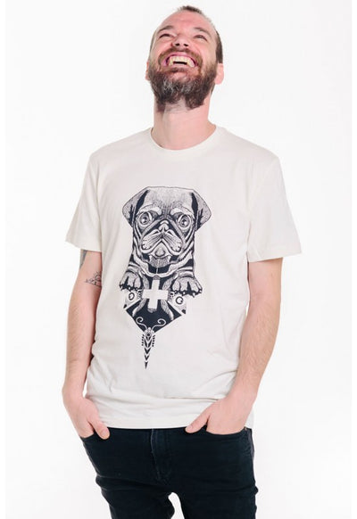 Art Shirt SR CARLINO / broken white