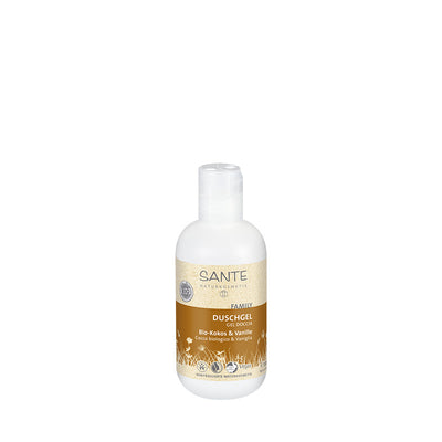 SANTÉ / Shower Gel Organic Coconut & Vanilla 200ml