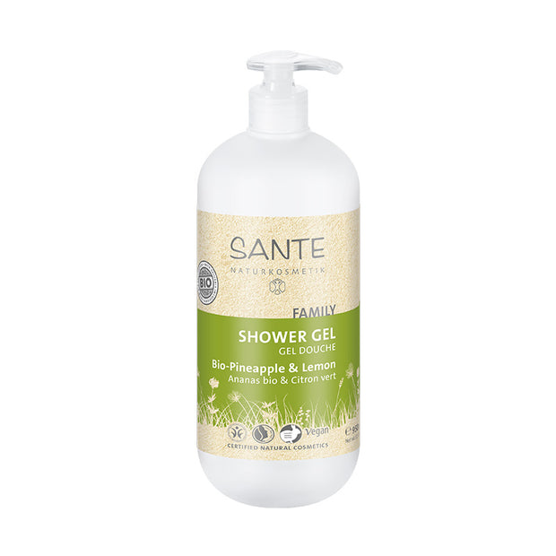 SANTÉ / Shower Gel Organic Pineapple & Lemon 950ml