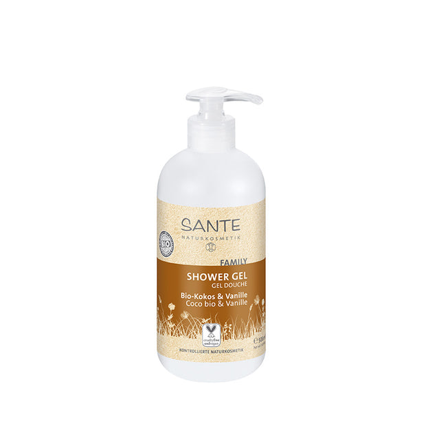 SANTÉ / Shower Gel Organic Coconut & Vanilla 500ml