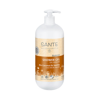 SANTÉ / Shower Gel Organic Coconut & Vanilla 950ml
