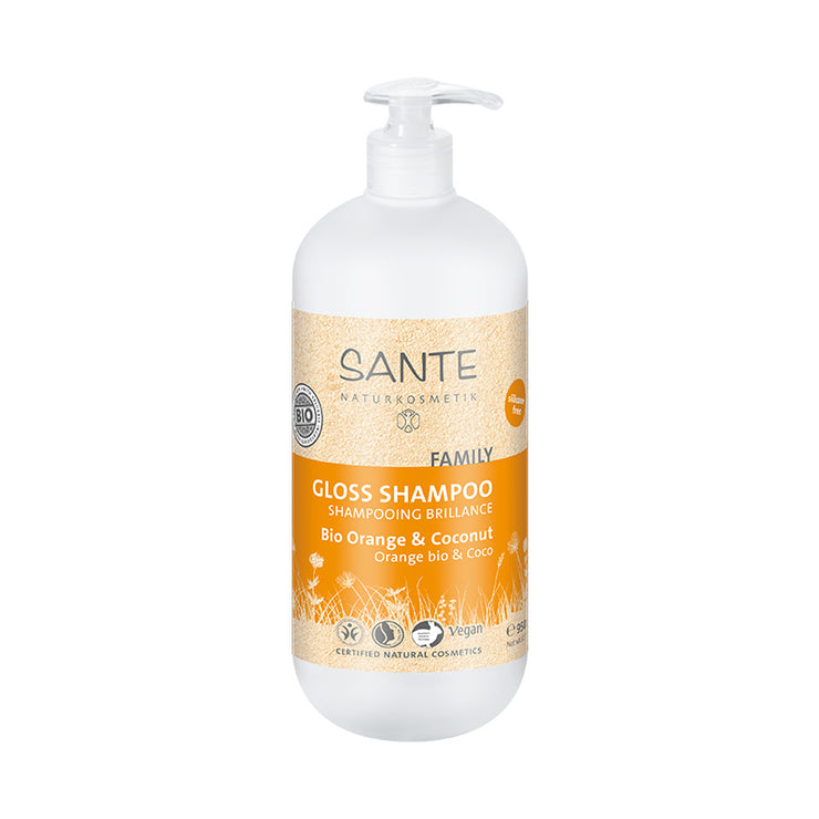SANTÉ / Gloss & Strengthening Shampoo Orange & Coco 950ml