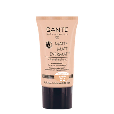 SANTÉ / Liquid Foundation Matte Matt EvermatTM Mineral Make up 02 Sand
