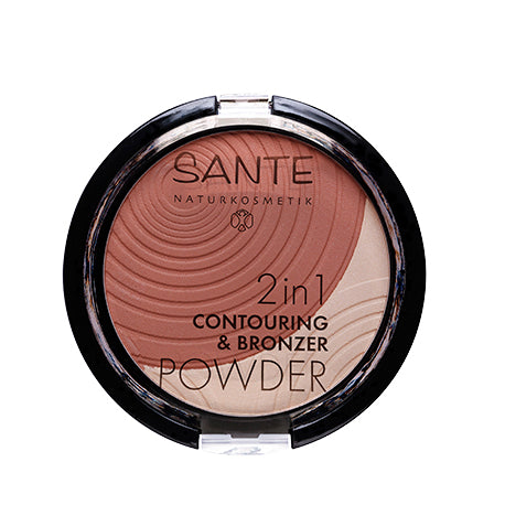 SANTÉ / 2in1 Contouring & Bronzer Powder 01 Light-Medium