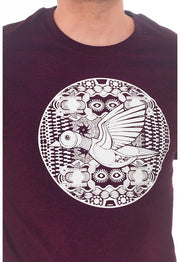 SIMBIOSIS / Art Shirt Mechanik Duck / Wine Grape