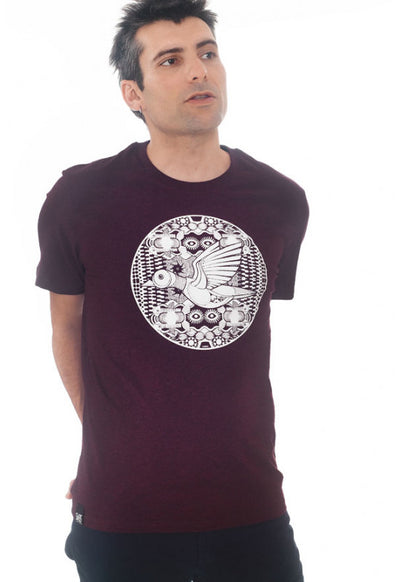 Art Shirt Mechanik Duck / wine grape
