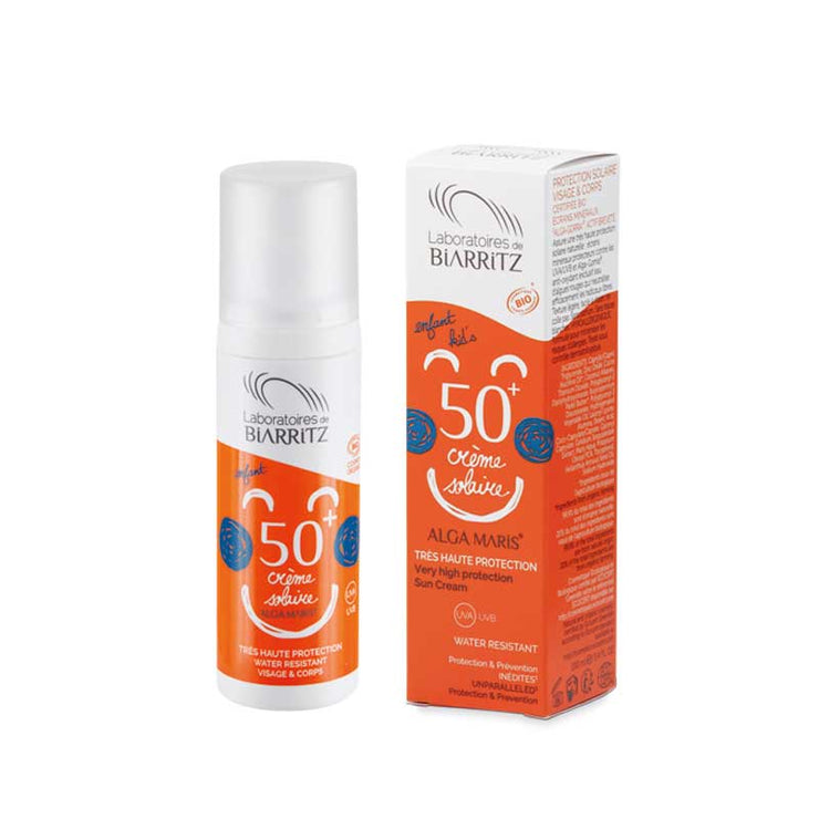 LABORATOIRES DE BIARRITZ / Alga Maris Certified Organic Children's SPF 50+ Sunscreen
