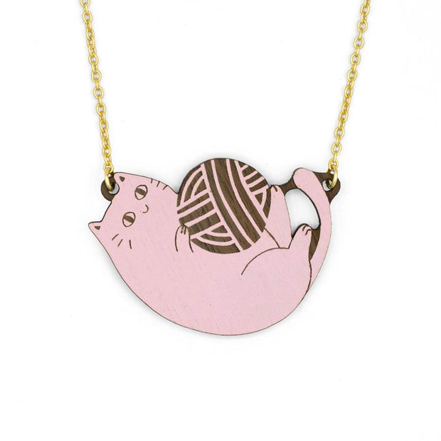 MATERIA RICA / Necklace Playful Cat