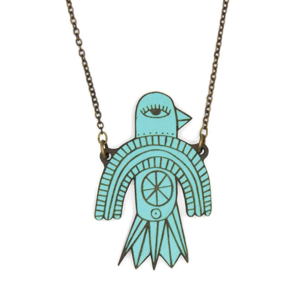 MATERIA RICA / Necklace Flying Bird