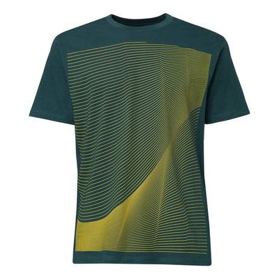 Air T-Shirt / yellow | deep teal