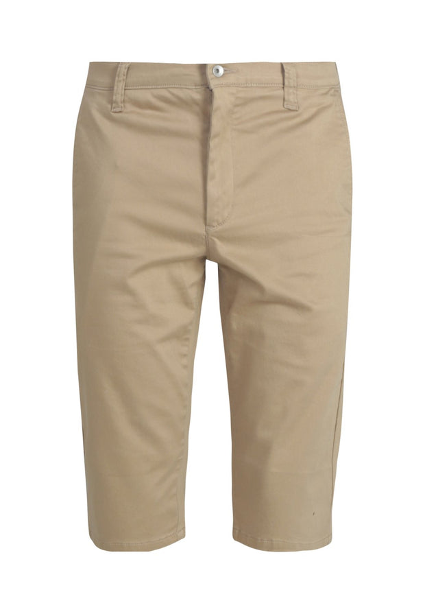 MONKEEGENES / Chino Bermudas / Dark Buff