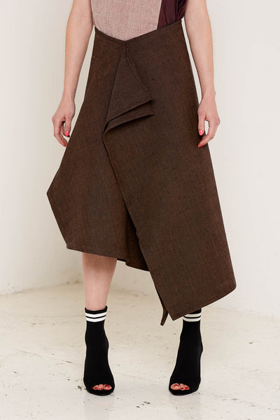 Christina Skirt (Brown)