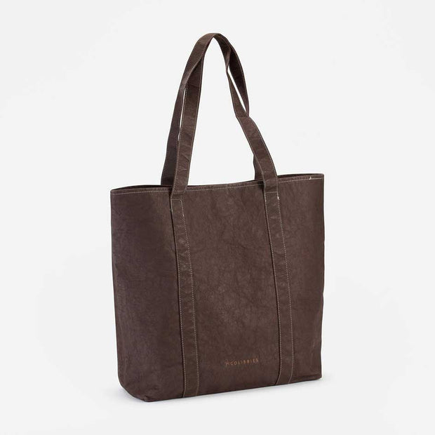 COLIBRIES / Tote Bag Kamilah / Dark Brown