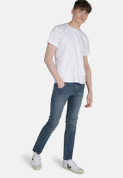 MONKEEGENES / Dean Organic Slim Fit Jeans / Mid Wash (Beat)