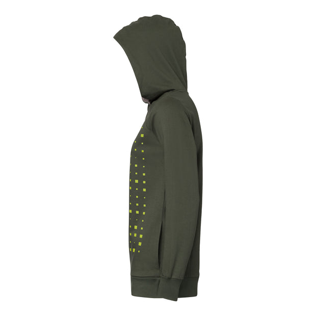 THOKKTHOKK / Drift TT1026 Cross Hoodie Woman / Yellow | Moss