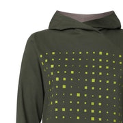 Drift TT1026 Cross Hoodie Woman yellow/moss GOTS & Fairtrade