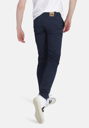 MONKEEGENES / Harry Organic Sateen Skinny Chino / Navy