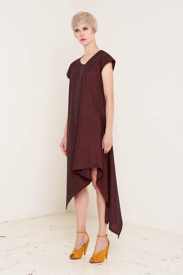 BO CARTER / Heather Dress / Burgundy